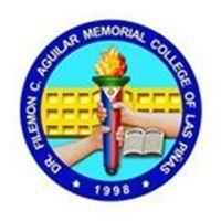 Dr. Filemon C. Aguilar Memorial College Logo