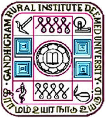 Gandhigram Rural Institute (Deemed to be University) Logo
