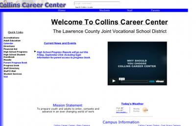 O C Collins Career Center Logo