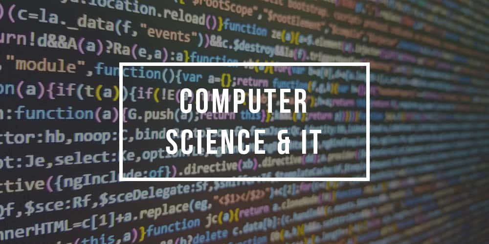 Major in Computer Science and IT