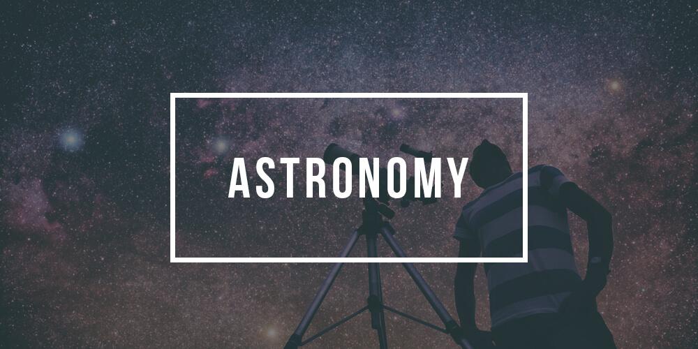Major in Astronomy