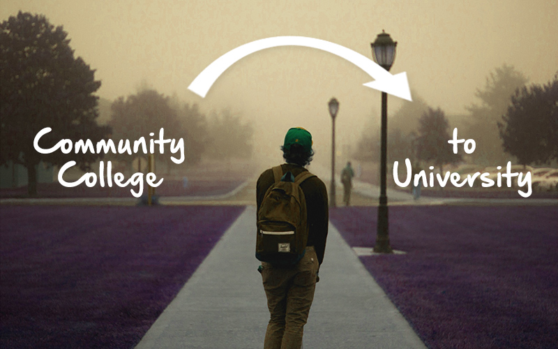 Transferring from a Community College to a University